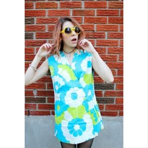Dresses & Skirts - 70's Floral Tunic